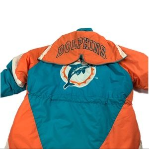 Lee Sport Miami Dolphins Puffer Jacket